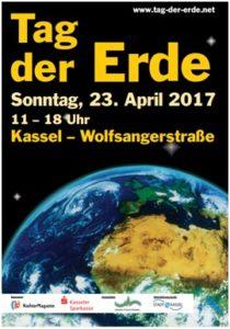 Plakat zum Tag der Erde 2017 in Kassel