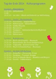 Kulturprogramm - Kassel Tag der Erde 2014