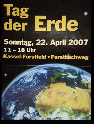 2007 Tag der Erde in Kassel im Stadtteil Forstfeld
